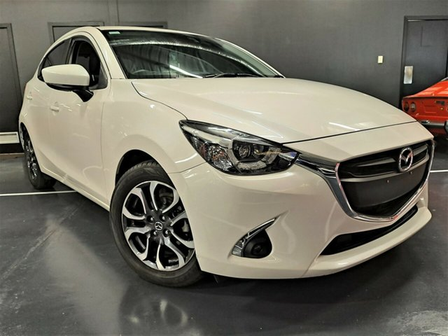 Used Mazda 2 DJ2HAA Maxx SKYACTIV-Drive Ashmore, 2019 Mazda 2 DJ2HAA Maxx SKYACTIV-Drive White 6 Speed Sports Automatic Hatchback