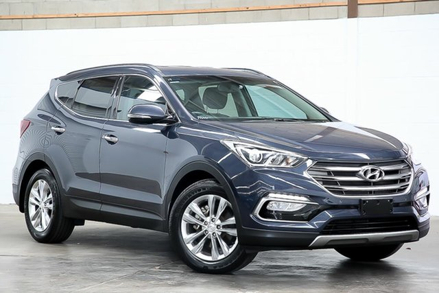 Used Hyundai Santa Fe DM3 MY16 Elite Erina, 2016 Hyundai Santa Fe DM3 MY16 Elite Blue 6 Speed Sports Automatic Wagon