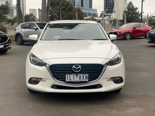 2017 Mazda 3 BN5438 SP25 SKYACTIV-Drive GT Crystal White Pearl 6 Speed Sports Automatic Hatchback.