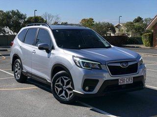 2018 Subaru Forester S5 MY19 2.5i-L CVT AWD Silver 7 Speed Constant Variable Wagon.