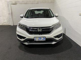 2016 Honda CR-V RM Series II MY17 VTi Taffeta White 5 Speed Automatic Wagon