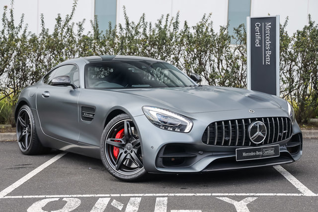 Certified Pre-Owned Mercedes-Benz AMG GT C190 808+058MY S SPEEDSHIFT DCT Mulgrave, 2018 Mercedes-Benz AMG GT C190 808+058MY S SPEEDSHIFT DCT Selenite Grey Magno 7 Speed