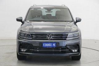 2019 Volkswagen Tiguan 5N MY19.5 162TSI DSG 4MOTION Highline Indium Grey 7 Speed.