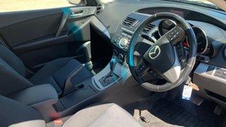 2010 Mazda 3 BL 10 Upgrade Maxx Sport White 5 Speed Automatic Sedan