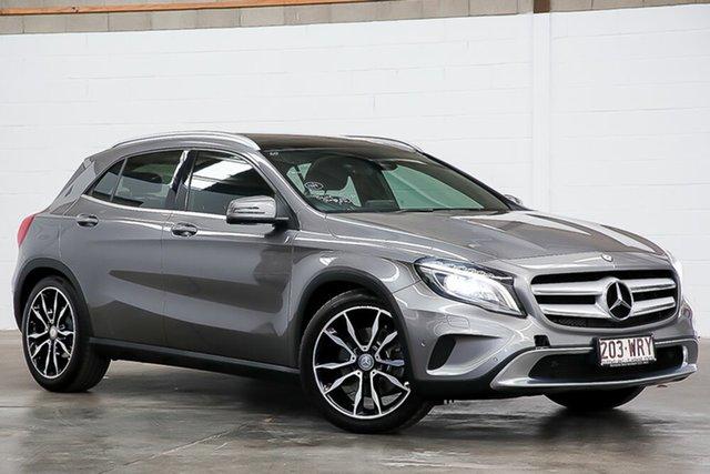 Used Mercedes-Benz GLA-Class X156 805+055MY GLA250 DCT 4MATIC Erina, 2015 Mercedes-Benz GLA-Class X156 805+055MY GLA250 DCT 4MATIC Grey 7 Speed