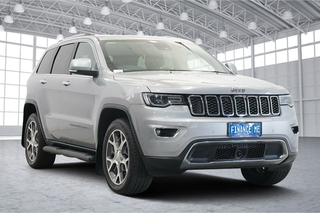 Used Jeep Grand Cherokee WK MY19 Limited Victoria Park, 2019 Jeep Grand Cherokee WK MY19 Limited Silver 8 Speed Sports Automatic Wagon