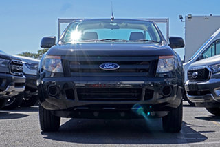 2014 Ford Ranger PX XL Black 6 Speed Manual Cab Chassis.