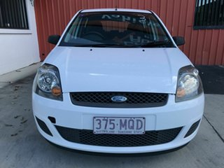 2007 Ford Fiesta WQ LX White 4 Speed Automatic Hatchback.