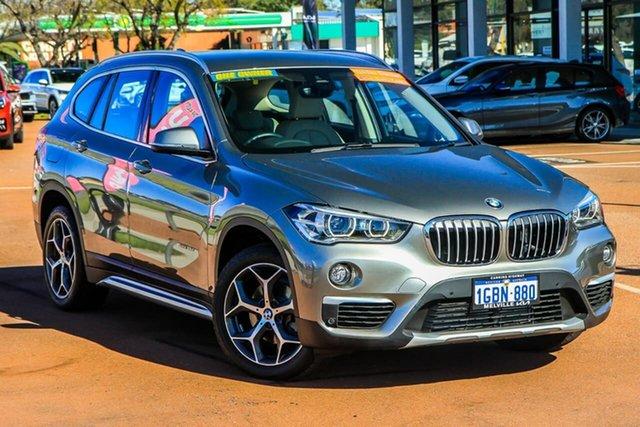 Used BMW X1 F48 sDrive18d Steptronic Attadale, 2016 BMW X1 F48 sDrive18d Steptronic Bronze/cre 8 Speed Sports Automatic Wagon