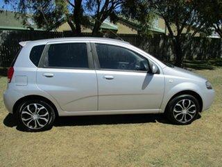 2007 Holden Barina TK MY07 Silver 4 Speed Automatic Sedan