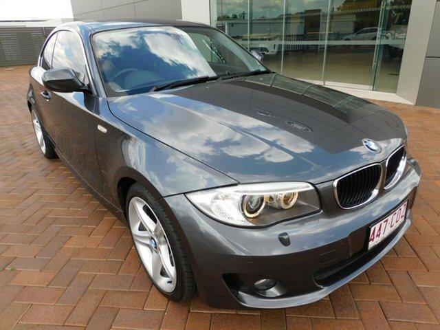 Used BMW 1 Series E82 LCI MY0312 125i Steptronic Toowoomba, 2012 BMW 1 Series E82 LCI MY0312 125i Steptronic Grey 6 Speed Sports Automatic Coupe