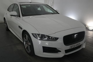 2018 Jaguar XE X760 MY18 R-Sport White 8 Speed Sports Automatic Sedan.