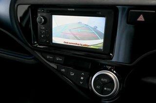 2015 Toyota Prius c NHP10R E-CVT White 1 Speed Constant Variable Hatchback Hybrid