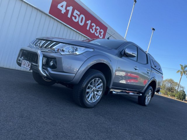 Used Mitsubishi Triton MQ MY16 Exceed Double Cab Bundaberg, 2015 Mitsubishi Triton MQ MY16 Exceed Double Cab Grey 5 Speed Sports Automatic Utility