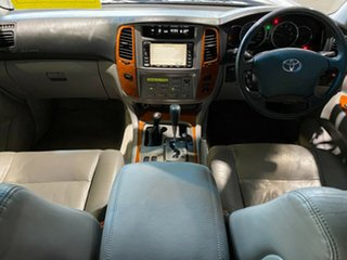 2002 Toyota Landcruiser UZJ100R Sahara Gold 5 Speed Automatic Wagon