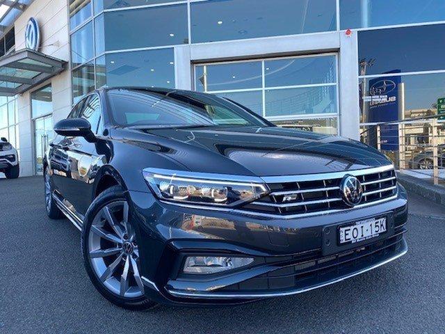 Demo Volkswagen Passat 3C (B8) MY21 162TSI DSG Elegance Brookvale, 2021 Volkswagen Passat 3C (B8) MY21 162TSI DSG Elegance Manganese Grey Metallic 6 Speed