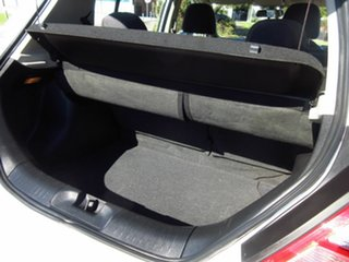2013 Nissan Tiida C11 Series 4 ST White 4 Speed Automatic Hatchback