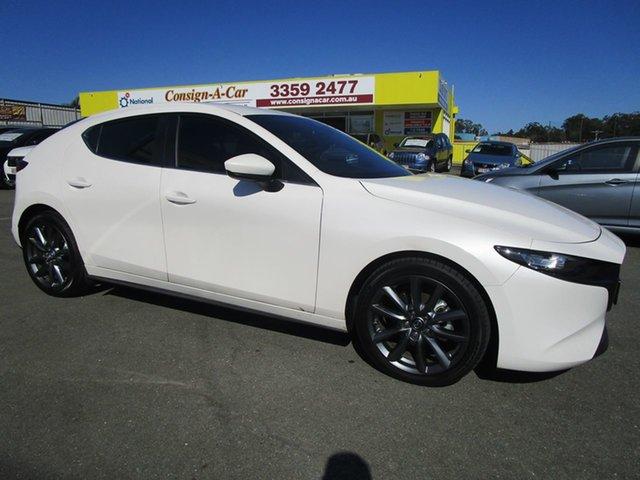 Used Mazda 3 BP2H7A G20 SKYACTIV-Drive Evolve Kedron, 2020 Mazda 3 BP2H7A G20 SKYACTIV-Drive Evolve White 6 Speed Sports Automatic Hatchback
