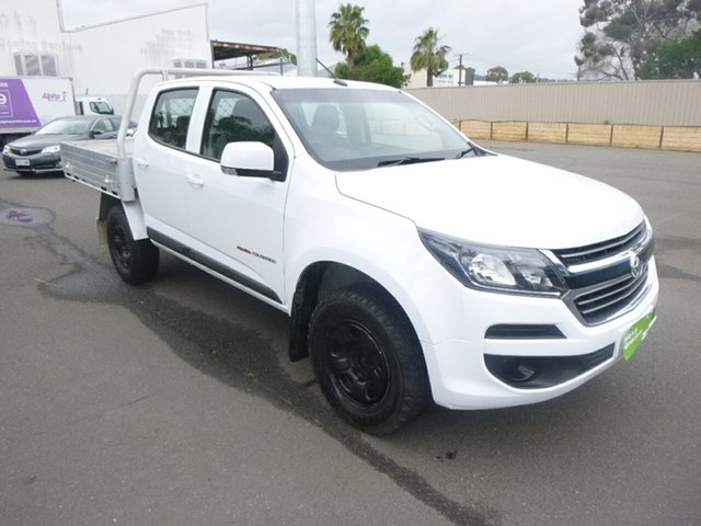 Used Holden Colorado RG MY19 LT Pickup Crew Cab St Marys, 2018 Holden Colorado RG MY19 LT Pickup Crew Cab White 6 Speed Sports Automatic Utility