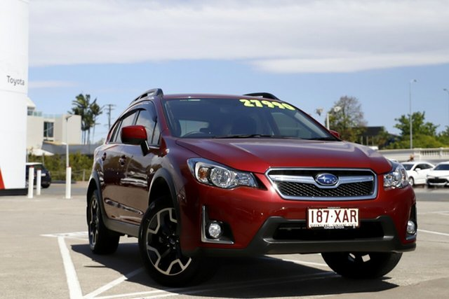 Pre-Owned Subaru XV G4X MY17 2.0i Lineartronic AWD Albion, 2016 Subaru XV G4X MY17 2.0i Lineartronic AWD Red 6 Speed Constant Variable Wagon