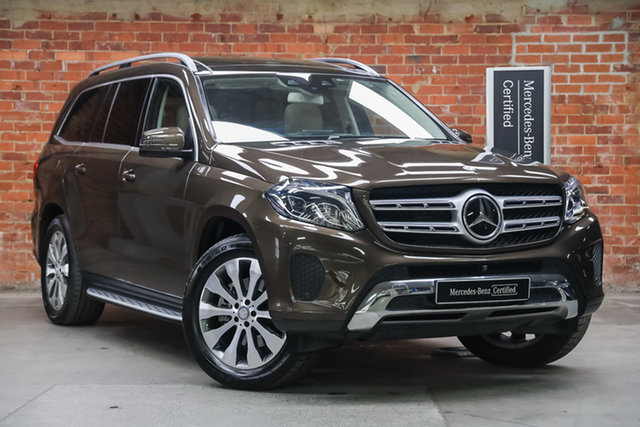 Certified Pre-Owned Mercedes-Benz GLS-Class X166 GLS350 d 9G-Tronic 4MATIC Mulgrave, 2016 Mercedes-Benz GLS-Class X166 GLS350 d 9G-Tronic 4MATIC Brown 9 Speed Sports Automatic Wagon