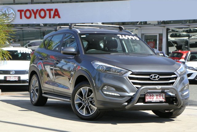 Pre-Owned Hyundai Tucson TL MY18 Active X 2WD North Lakes, 2017 Hyundai Tucson TL MY18 Active X 2WD Grey 6 Speed Sports Automatic Wagon