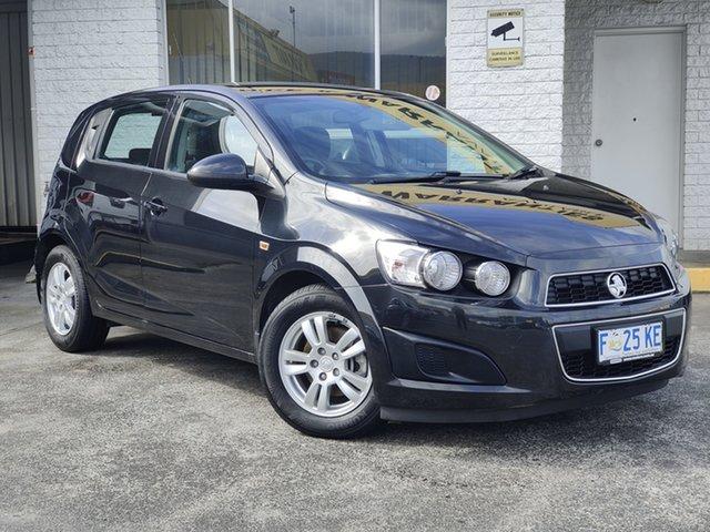 Used Holden Barina TM MY16 CD Derwent Park, 2016 Holden Barina TM MY16 CD Black 6 Speed Automatic Hatchback