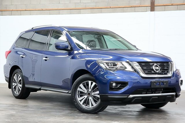 Used Nissan Pathfinder R52 Series II MY17 ST-L X-tronic 2WD Erina, 2017 Nissan Pathfinder R52 Series II MY17 ST-L X-tronic 2WD Blue 1 Speed Constant Variable Wagon