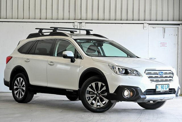 Used Subaru Outback B6A MY18 2.5i CVT AWD Premium Laverton North, 2018 Subaru Outback B6A MY18 2.5i CVT AWD Premium White 7 Speed Constant Variable Wagon