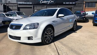 2017 Holden Caprice WN MY17 V White 6 Speed Auto Active Sequential Sedan.