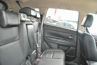 2013 Mitsubishi Outlander ZJ MY14 Aspire (4x4) White 6 Speed Automatic Wagon