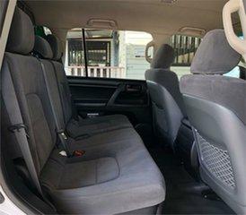 2013 Toyota Landcruiser VDJ200R GX White 6 Speed Sports Automatic Wagon