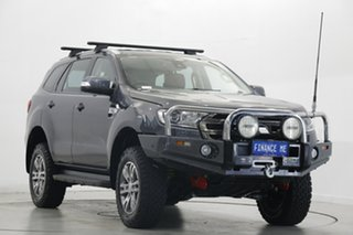 2017 Ford Everest UA Trend Green 6 Speed Sports Automatic SUV