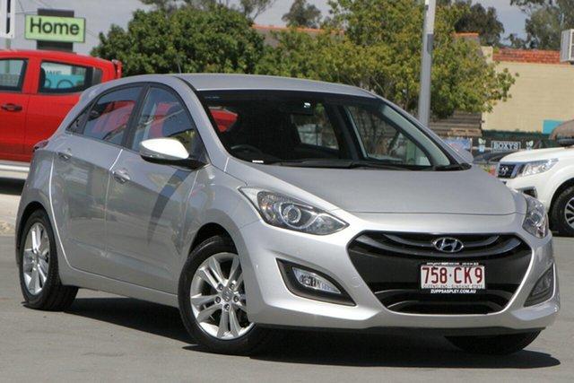 Used Hyundai i30 GD MY14 Elite Aspley, 2013 Hyundai i30 GD MY14 Elite Silver 6 Speed Sports Automatic Hatchback