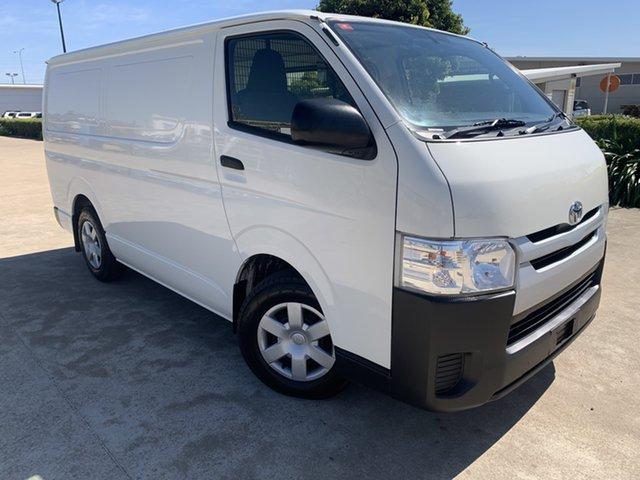 Used Toyota HiAce KDH201R LWB Garbutt, 2017 Toyota HiAce KDH201R LWB White 4 Speed Automatic Van