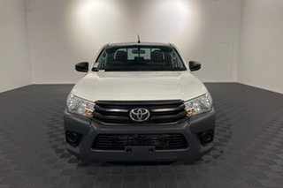 2018 Toyota Hilux TGN121R Workmate Double Cab 4x2 Glacier 6 speed Automatic Utility.