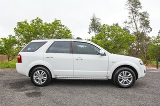 2011 Ford Territory SY MkII TS RWD Limited Edition White 4 Speed Sports Automatic Wagon