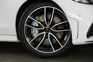 2019 Mercedes-Benz C-Class W205 809MY C43 AMG 9G-Tronic 4MATIC White 9 Speed Sports Automatic Sedan.