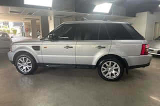 2007 Land Rover Range Rover Sport L320 08MY TDV6 Silver 6 Speed Sports Automatic Wagon