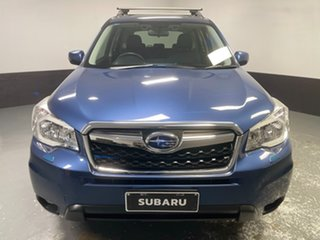 2013 Subaru Forester S4 MY13 2.5i-S Lineartronic AWD Marine Blue 6 Speed Constant Variable Wagon.