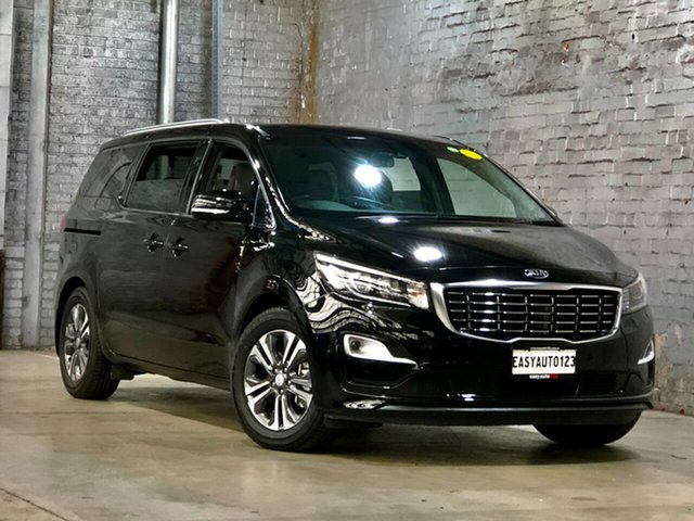 Used Kia Carnival YP MY18 SLi Mile End South, 2018 Kia Carnival YP MY18 SLi Black 6 Speed Sports Automatic Wagon
