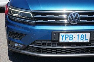 2017 Volkswagen Tiguan 5N MY17 162TSI DSG 4MOTION Highline Caribbean Blue 7 Speed