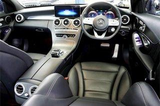 2019 Mercedes-Benz C-Class W205 809MY C200 9G-Tronic Blue 9 Speed Sports Automatic Sedan