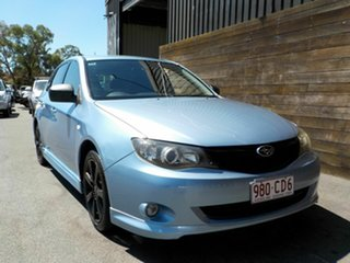 2010 Subaru Impreza G3 MY10 RS AWD Blue 4 Speed Sports Automatic Hatchback.