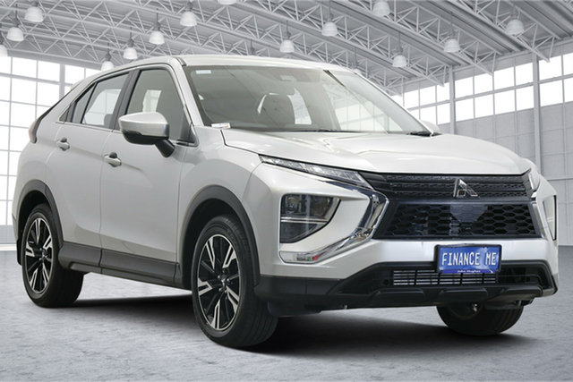 Used Mitsubishi Eclipse Cross YB MY21 ES 2WD Victoria Park, 2020 Mitsubishi Eclipse Cross YB MY21 ES 2WD Sterling Silver 8 Speed Constant Variable Wagon