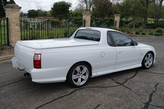2003 Holden Commodore VY SS White 4 Speed Automatic Utility