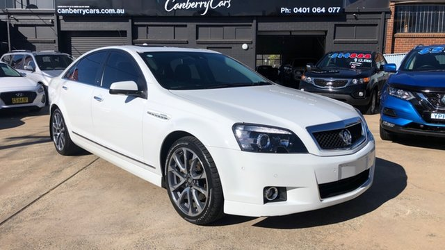 Used Holden Caprice WN MY17 V Phillip, 2017 Holden Caprice WN MY17 V White 6 Speed Auto Active Sequential Sedan