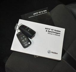 2017 Holden Commodore VF II MY17 SV6 Black 6 Speed Automatic Sedan.