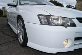 2003 Holden Commodore VY SS White 4 Speed Automatic Utility.