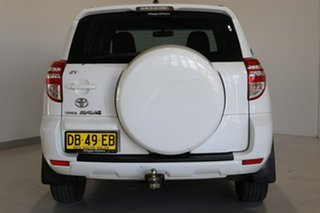 2011 Toyota RAV4 ACA38R MY12 CV 4x2 White 4 Speed Automatic Wagon